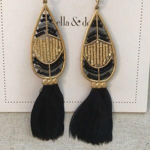 Wisten Feather Earrings